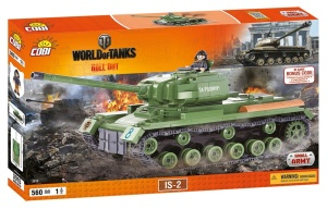 COBI KLOCKI SMALL ARMY WORLD OF TANKS CZOŁG IS-2 560el. 3015