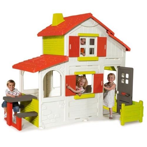 Smoby domek dwupoziomowy duplex 320023 domki sklep z for Casas de plastico para ninos