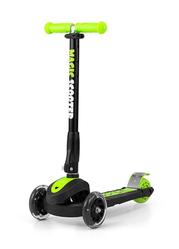 MILLY MALLY HULAJNOGA MAGIC SCOOTER GREEN