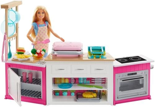 Mattel Zestaw Idealna Kuchnia I Lalka Barbie Frh73 Lalki Barbie